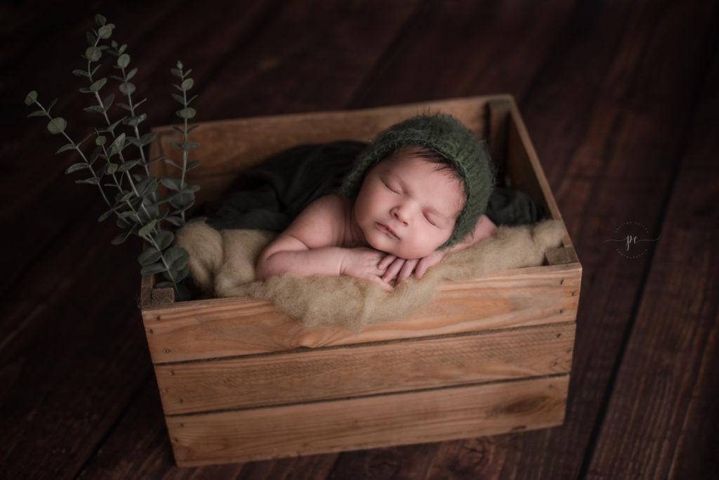 photographe nouveau né angers naissance malone