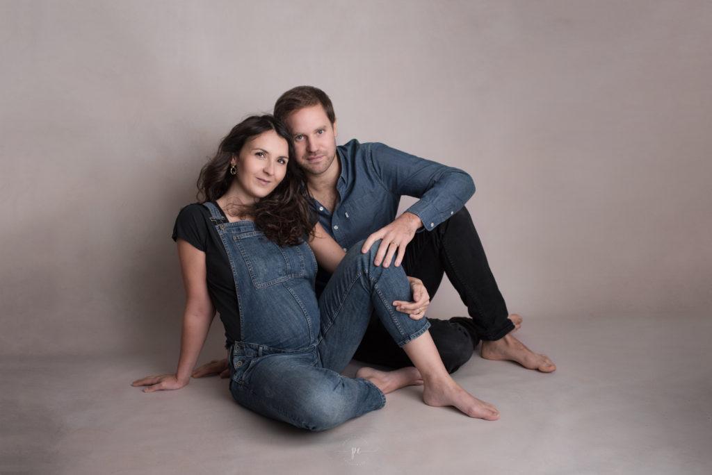 photographe grossesse angers couple cb