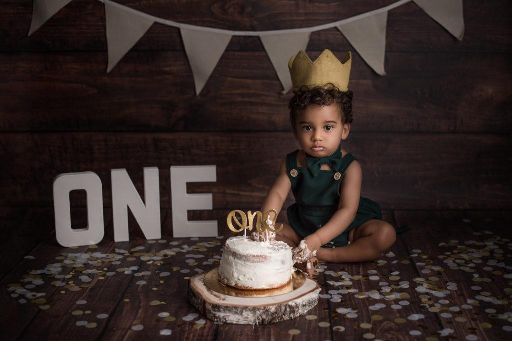 photographe bébé angers smash the cake igor